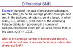 differential snr1