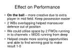 effect on performance2