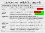 introduction reliability methods