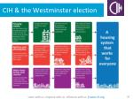 cih the westminster election