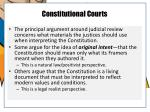 constitutional courts1