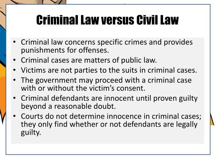 compare and contrast moral laws vs criminal law Difference between law and ethics these come from within a person by his moral values application laws depend on the country, state and the place of the crime.