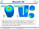 maxwell 3d