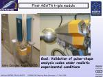 first agata triple module