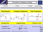 procedure of gamma tracking