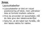 layouttabeller