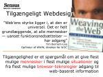tilg ngeligt webdesig n