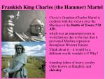 frankish king charles the hammer martel