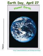 earth day april 27