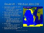 doubt 1 yb1a on 40m cw