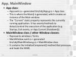 app mainwindow