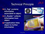 technical principle