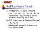 klasifikasi nama domain