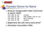 translasi nomor ke nama