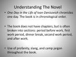 understanding the novel