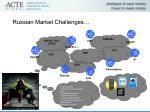 russian market challenges