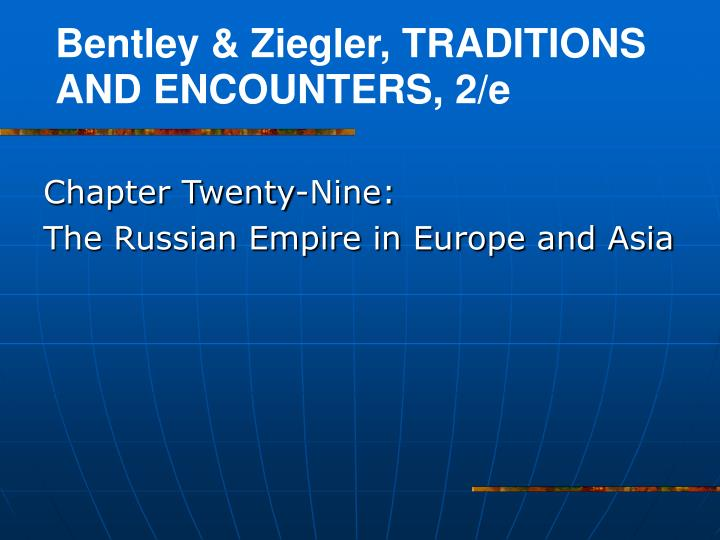 chapter twenty nine the russian empire in europe and asia n.