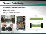 chassis body design
