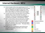 internal hardware mcu1