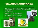sejarah adhyaksa