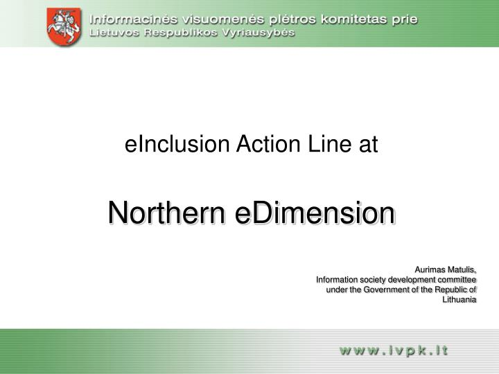 einclusion action line at n.
