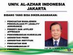 univ al azhar indonesia jakarta