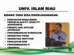univ islam riau