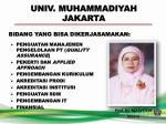 univ muhammadiyah jakarta