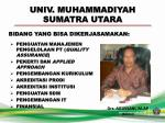 univ muhammadiyah sumatra utara