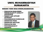 univ muhammadiyah surakarta