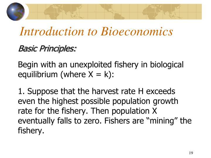 Introduction to Bioeconomics