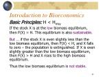 introduction to bioeconomics9