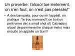 un proverbe l alcool tue lentement on s en fout on n est pas press s