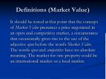 definitions market value1
