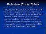 definitions market value1