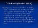 definitions market value10