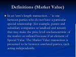 definitions market value15
