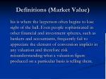 definitions market value4