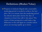 definitions market value6