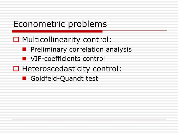 multicollinearity essay Threats to validity of research design however, it should be noted that a departure from experimentation to essay writing (thorndike to gestalt psychology.