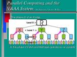 parallel computing and the v aa system by professor j peredy bute2
