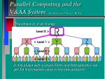 parallel computing and the v aa system by professor j peredy bute3
