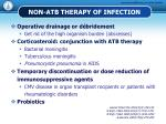 non atb therapy of infection