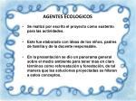 agentes ecologicos1