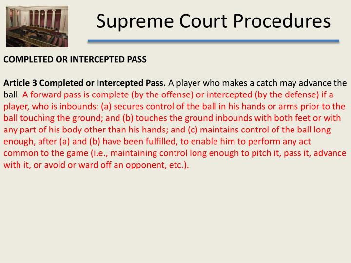 COMPLETED OR INTERCEPTED PASS
