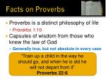 facts on proverbs2