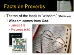 facts on proverbs6