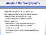 amyloid cardiomyopathy
