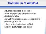 continuum of amyloid