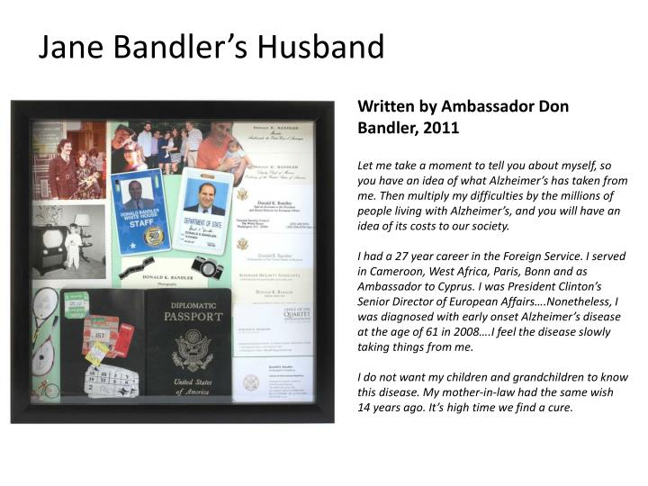 jane bandler s husband n.